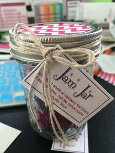 Great gift idea for Jamberry. Jam jar. #nails #nailart #fashion personalizednails.jamberrynails.net