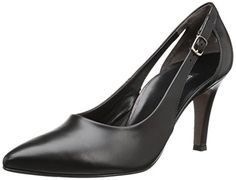 Paul Green Women's Contessa Dress Pump, Black Leather,10 B(M) US ** Click on the image for additional details.