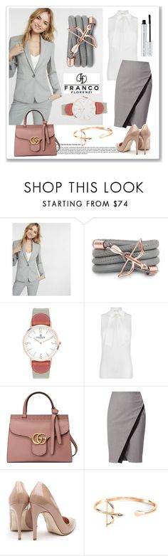"""""""Win $50 from Franco Florenzi"""" by ruza-b-s ❤ liked on Polyvore featuring Express, Monza, VIcenza, MICHAEL Michael Kors, Gucci, WtR, Rupert Sanderson, 100% Pure, watch and bracelet"""