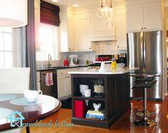 After--kitchen makeover from remodelando la casa--after