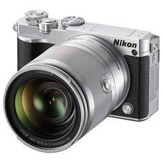 Nikon 1 J5 Interchangeable Lens Mirrorless Camera Supports 4K Recording