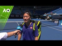 Legends: Chang/Martin v McEnroe/McEnroe on court interview (3R) | Austra...