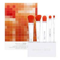 'Tangerine Tango' Brush Set from Sephora + Pantone All Things Beauty, My Beauty, Beauty Hacks, Beauty Tips, Bella Beauty, Beauty Brushes, Makeup Brushes, Cosmetic Brushes, Sephora