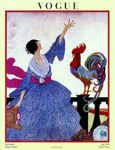 1918 Vogue Magazine cover