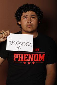 Revolution, Ronaldo Reyes, Estudiante, UANL, Monterrey, México