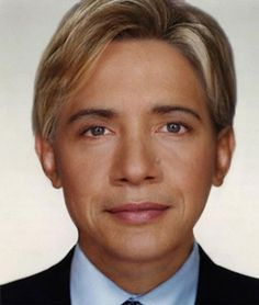 Hillary Clinton and Barack Obama Morphed