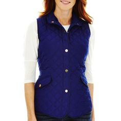 St. John's Bay® Quilted Vest  found at @JCPenney