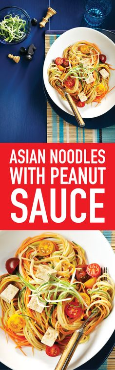 We've yet to meet a kid who doesn't love noodles with peanut sauce. If there are allergies in your family, swap the peanut butter for soy nut, almond or sesame seed butter.