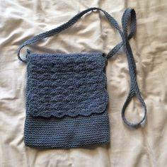 vintage small cross body blue crochet purse small cross body vintage purse. really good vintage condition! Vintage Bags Crossbody Bags