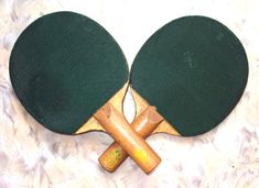 Vintage Ping Pong Racket 1980s Two Items