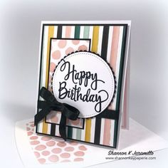 Stylized Birthday Greetings – Tic Tac Toe Challenge #3