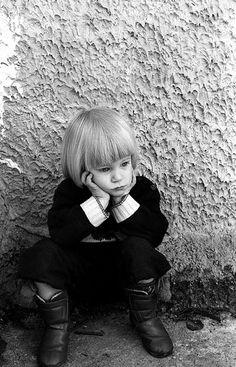 enfants triste -