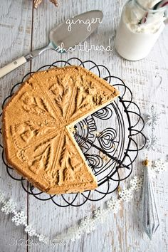 Ginger Shortbread @ Not Quite Nigella Edible Christmas Gifts, Christmas Lunch, Christmas Treats, Summer Christmas, Christmas Recipes, Shortbread Recipes, Cookie Recipes, Shortbread Cookies, Cookie Time