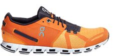 On-Running Mens Cloud All White Running Shoe - 10 Lightweight Running Shoes, Trail Running Shoes, Orange, Trainers, Fashion Shoes, Kicks, Shoes Sneakers, Clouds, La Mode
