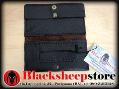 Portatabacco in vera pelle realizzato a mano made in Italy porta tabacco leather pouch di BlackSheepItaly su Etsy