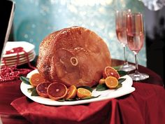Baked Ham with Balsamic Brown Sugar Glaze - Our favorite ham glaze.