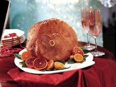 Baked Ham with Balsamic Brown Sugar Glaze
