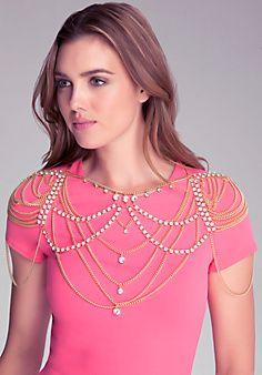 Stone & Chain Body Jewelry bebe