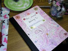 Wendy's Activities: Journals