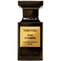 Tom Ford 'Rive d'Ambre' Eau de Parfum (€195) ❤ liked on Polyvore featuring beauty products, fragrance, accessories, perfume, no color, eau de perfume, tom ford perfume, perfume fragrances, edp perfume and tom ford
