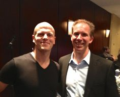 Tim Feriss and David Jensen