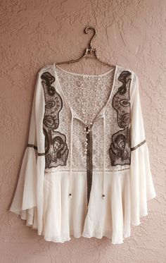 Browse all products in the Boho Gypsy Clothing category from Bohemian Angel. Boho Gypsy, Gypsy Style, Hippie Style, Hippie Boho, Bohemian Style, Boho Chic, Bohemian Tops, Boho Top, Mode Style
