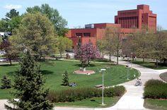 UWEC  Campus ~ Eau Claire