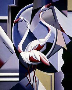 Catherine Abel | Australian Figurative painter | Art Déco