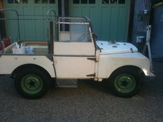 """My Dad's 1952 Series 1 80"""" Land Rover"""