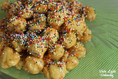 Struffoli: Honey-Drench Christmas Fritters