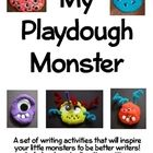A set of writing activities centered around a monster made with playdough. Students need one mini-container of playdough and an assortment of craf...