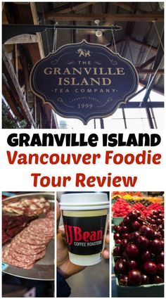 Granville Island Vancouver Foodie Tour Review Granville Island Vancouver, Vancouver Seattle, Vancouver Travel, Vancouver British Columbia, Vancouver Island, Vancouver Vacation, Vancouver Skyline, Visit Canada, Travel