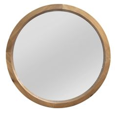 "Free 2-day shipping. Buy Natural Wood Round Wall Mirror 20"" by Stratton Home Decor at Walmart.com Natural Home Decor, Easy Home Decor, Home Decor Kitchen, Home Decor Bedroom, Room Decor, Wall Decor, Mirror Wall Art, Round Wall Mirror, Round Mirrors"