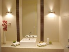 Lighting For Bathrooms | Home Decor: Have Enough Good Light at your Bathroom Sink?
