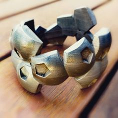 3d printed brass bangle