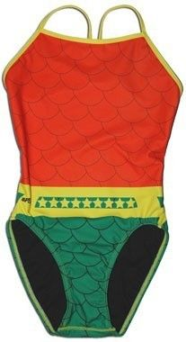 aquaman bathing suit!  This would be fun to wear to practice.