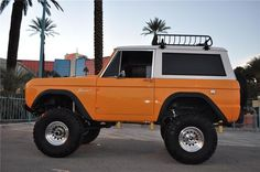 Ford Bronco is a sport utility vehicle that was produced from 1966 to with five distinct generations. Broncos can be divided into two categories: early Broncos and full-size Broncos A major redesign in 1978 moved the Bronco to a larger size. Classic Bronco, Classic Ford Broncos, Classic Chevy Trucks, Classic Cars, Chevy Classic, Ford Motor Company, Cool Trucks, Pickup Trucks, Bronco Truck