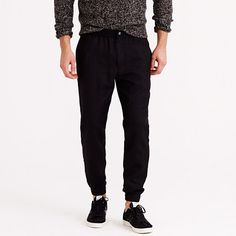 J.Crew - Sideline pant in refined wool Needs more colors patterns and bigger sizes but excellent pants