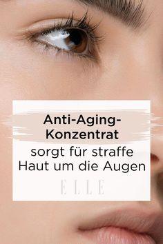 Die ersten Zeichen des Alters zeigen sich meist an den Augen: in Lachfältchen, die von schönen Lebensjahren und Erfahrungen zeugen. Aber auch in Form von Tränensäcken und Krähenfüßen. Das liegt daran, dass die Haut um die Augen sehr dünn ist, schneller an Elastizität verliert und so anfälliger ist für erste Knitterfalten. Die richtige Anti-Aging-Pflege für die Augen ist essentiell, für eine elastische und straffe Haut rund um die Augen #serum #faltenentferner #augenfalten #augencreme #beauty… Beauty Trends, Serum, Anti Aging, Movie Posters, Hair Removal, Collagen, Pimple, Laughing, Film Poster