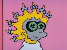 """The Simpsons"" Lisa Simpson Cartoon Icons, Cartoon Memes, Vintage Cartoon, Cute Cartoon, Lisa Simpson, Homer Simpson, Cartoon Wallpaper, Iphone Wallpaper, Arte Bob Marley"