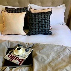 WEAVE SQUARE / Black Berry on Denim Cushion Inserts, Cushion Covers, Bed Pillows, Cushions, Select Shop, Little Designs, Lollipops, Pretty Cool, All Modern