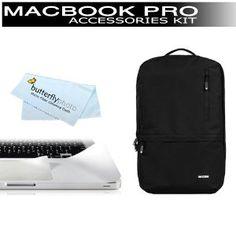 "Incase Nylon Campus Pack Backpack (Black) for 13"" MacBook Pro (fits: MB990LL/A, MB991LL/A, MC374LL/A, MC375LL/A, MC700LL/A, MC724LL/A, MD313LL/A, MD314LL/A) + Moshi ClearGuard Keyboard Protector for Macbook Pro 13"" Unibody + BONUS ButterflyPhoto Cloth (Electronics)  http://www.amazon.com/dp/B007D08W1E/?tag=goandtalk-20  B007D08W1E"