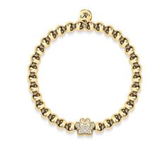 EverReena Beads Dazzling Clear Colorful Cubic Zircon Pave Charm for Silver Bracelets