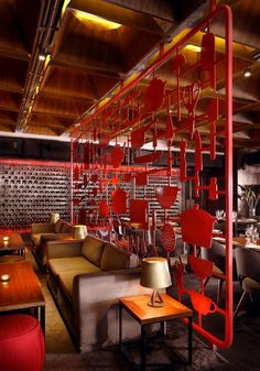 Tower Kitchen and Amazing Red Decor restaurant amazing red decor2