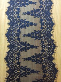 30ft navy Table runner 13  lace table by WeddingTableRunners