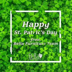 Happy Paddy's Day Bella Furniture, Paddys Day, Banners, Letters, Happy, Banner, Letter, Ser Feliz, Posters