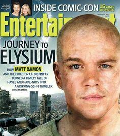 Entertainment magazine ...Matt Damon.