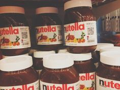 i normally eat nutella straight out of the jar im not knidding i hope my family doesnt see this haha oh well!