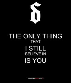 shinedown,if you only know