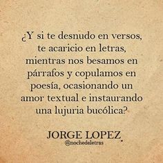 Momentos de Amor... Poesía de Jorge lópez